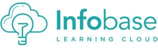 logo for infobase learning cloud: lightbulb and cloud